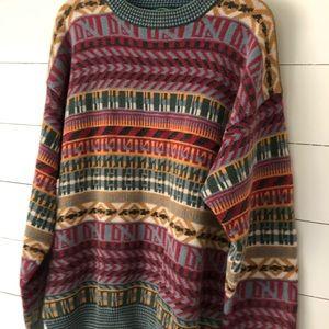 Vintage Izod Mens Pullover Sweater Size Large